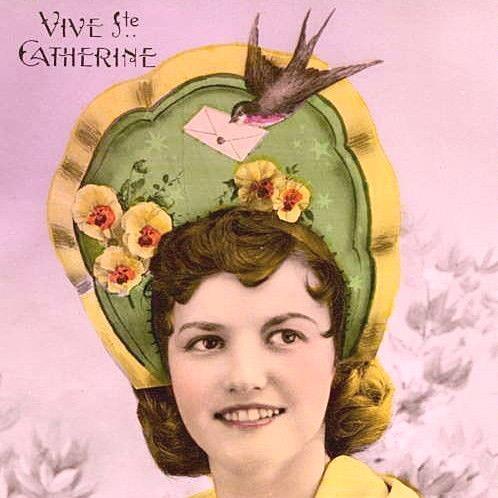 Pinterest : Les Catherinettes et leurs coiffes