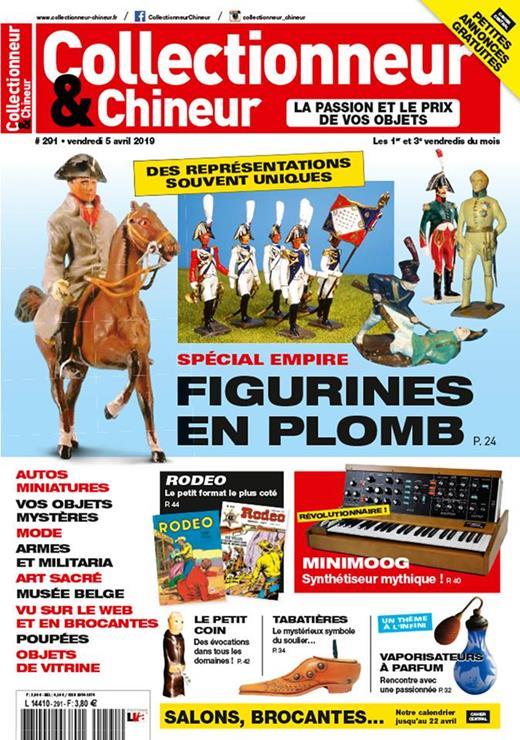 """Nouvelle collaboration avec les journaux """"Antiquité Brocante"""" et """"Collectionneur & Chineur"""""""