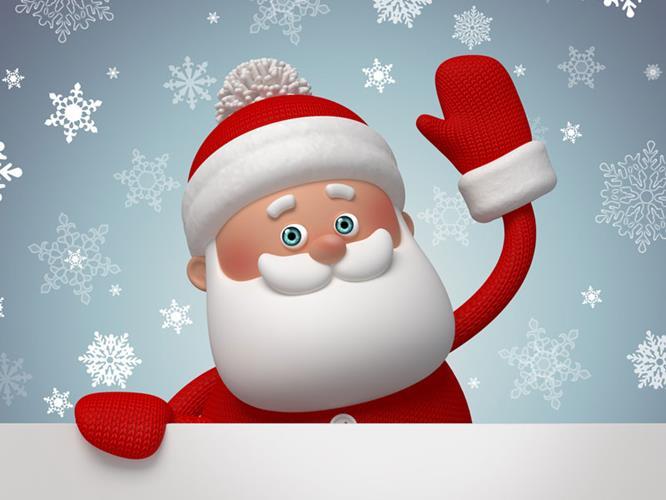 Message du Père Noël ...