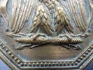Plaque de baudrier de l'Administration des Forêts - Photo