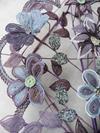 Grand bouquet mortuaire en perles de rocaille 2 - Photo