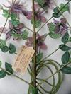 Grand bouquet mortuaire en perles de rocaille 1 - Photo