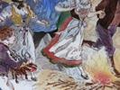 """Assiette scènes alsaciennes : """"les feux de la Saint-Jean"""" - Photo"""
