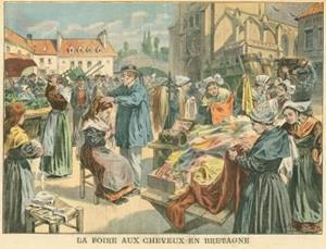Foire aux cheveux en Bretagne
