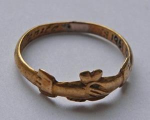 Bague de foi conservée du British Museum