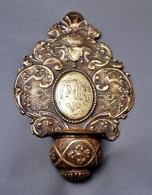 Bénitier XVIIème siècle, photo Jacques de Pas Antiquités