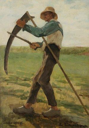 Le faucheur par Julien DUPRE (1851-1910)