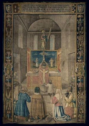 Tapisserie de la dévotion à Sainte Reine, Alise-Sainte-Reine