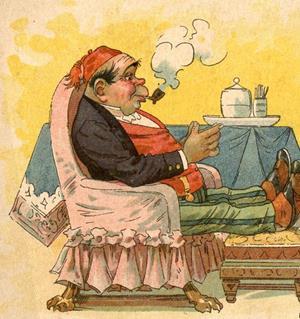Carte postale illustrée par Léo Hindre